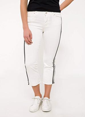 DeFacto Şerit Detaylı Bilek Boy Pantolon